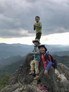 鳳来寺子連れ登山