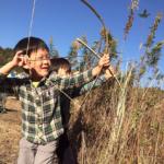 本気の竹遊び